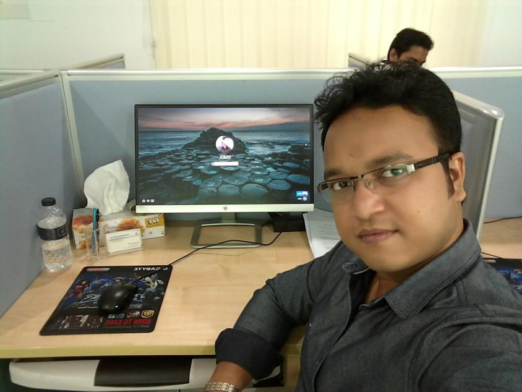 At Dream Solution Office
