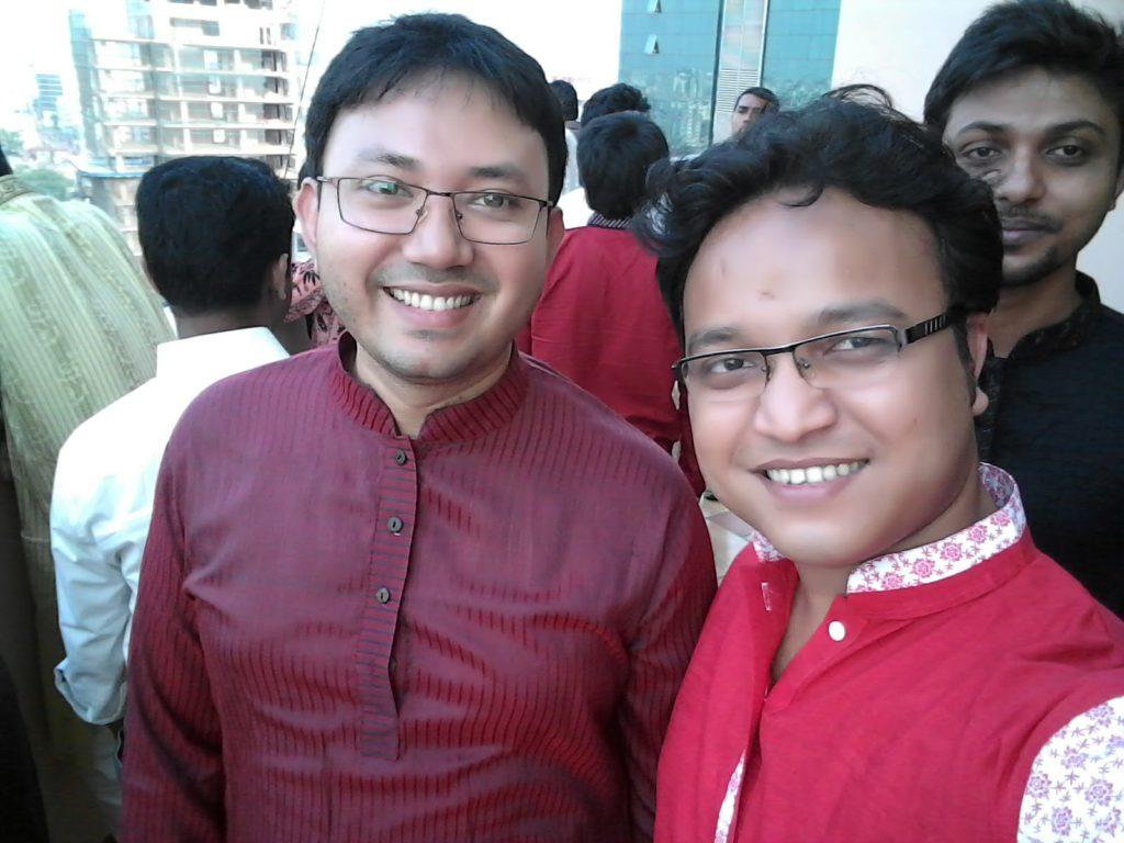 With Fuad Bhai