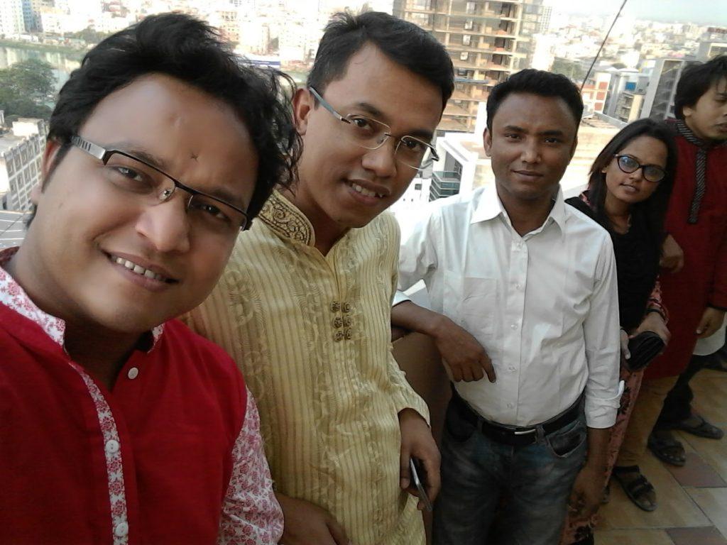 Pohela Boishakh Celebrating at Office