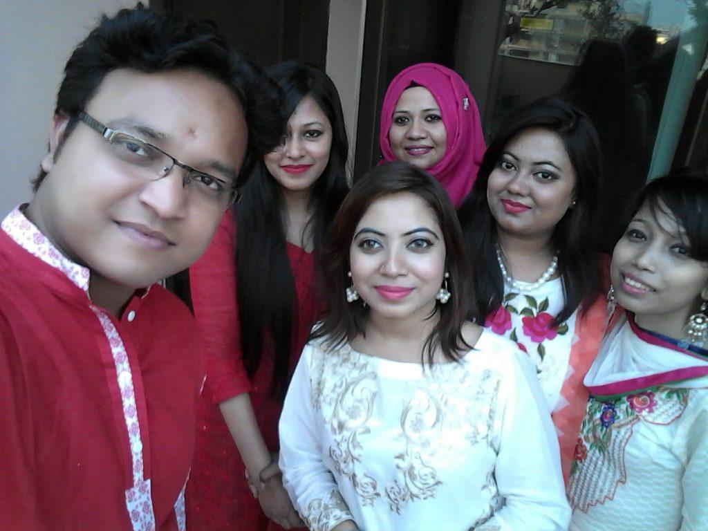 Celebrating Pohela Boishakh with Colleagues