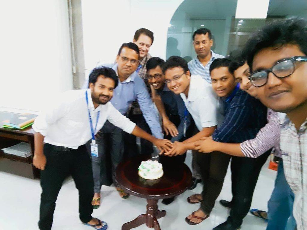 Tuhin-Birthday-celebration-at-office